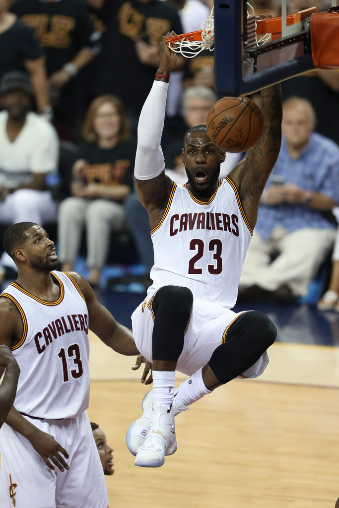 LeBron James NBA Finals Game 6