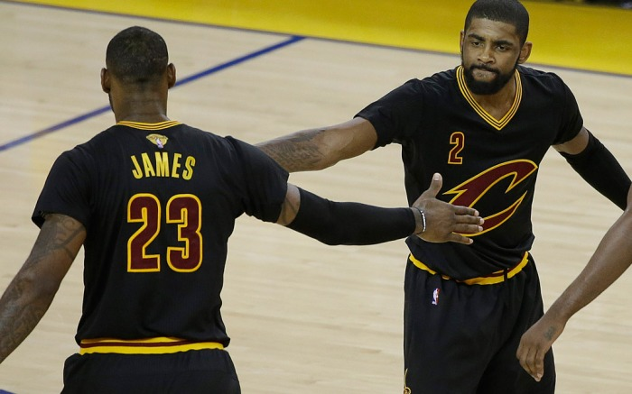 Lebron James Kyrie Irving Nike NBA Finals