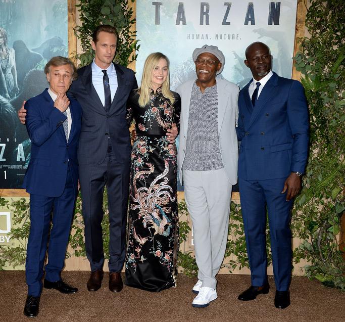 The Legend of Tarzan Premiere