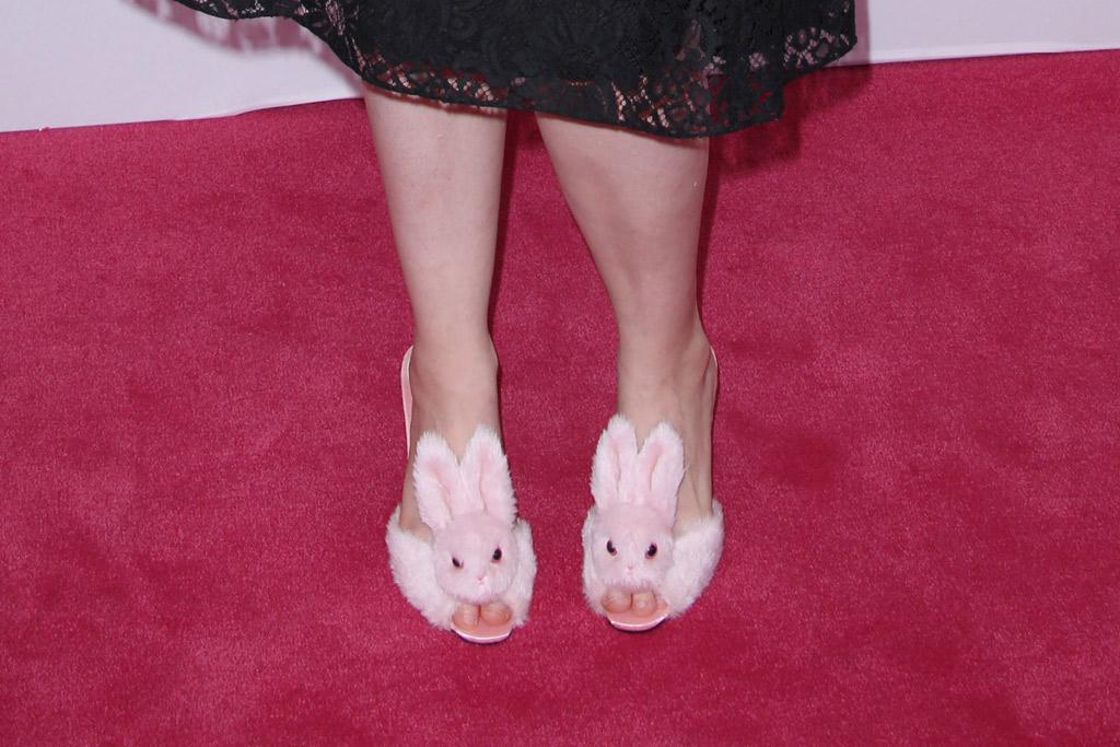 Lena Dunham Bunny Heels CFDA