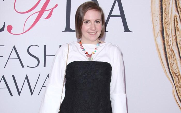 Lena Dunham CFDA Awards