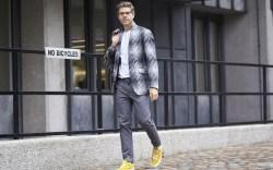 Street Style Men's Fashion Week London