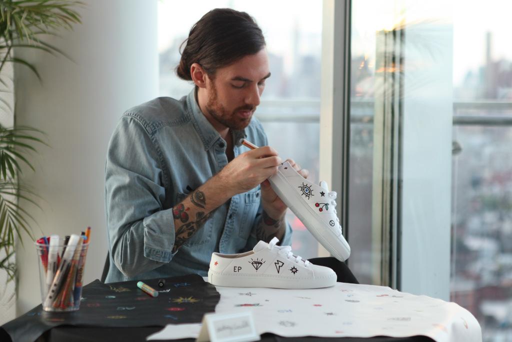 Louis Leeman bespoke sneakers