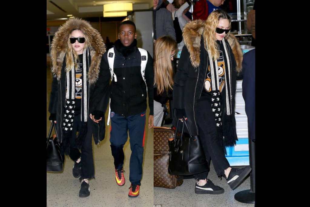 Madonna Rihanna Puma Creepers