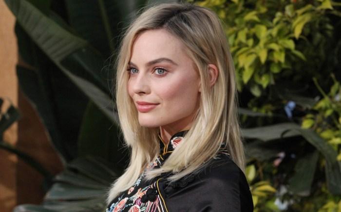 Margot Robbie Tarzan Premiere Gucci Platforms