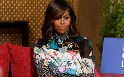 Michelle Obama Jimmy Choo Morocco