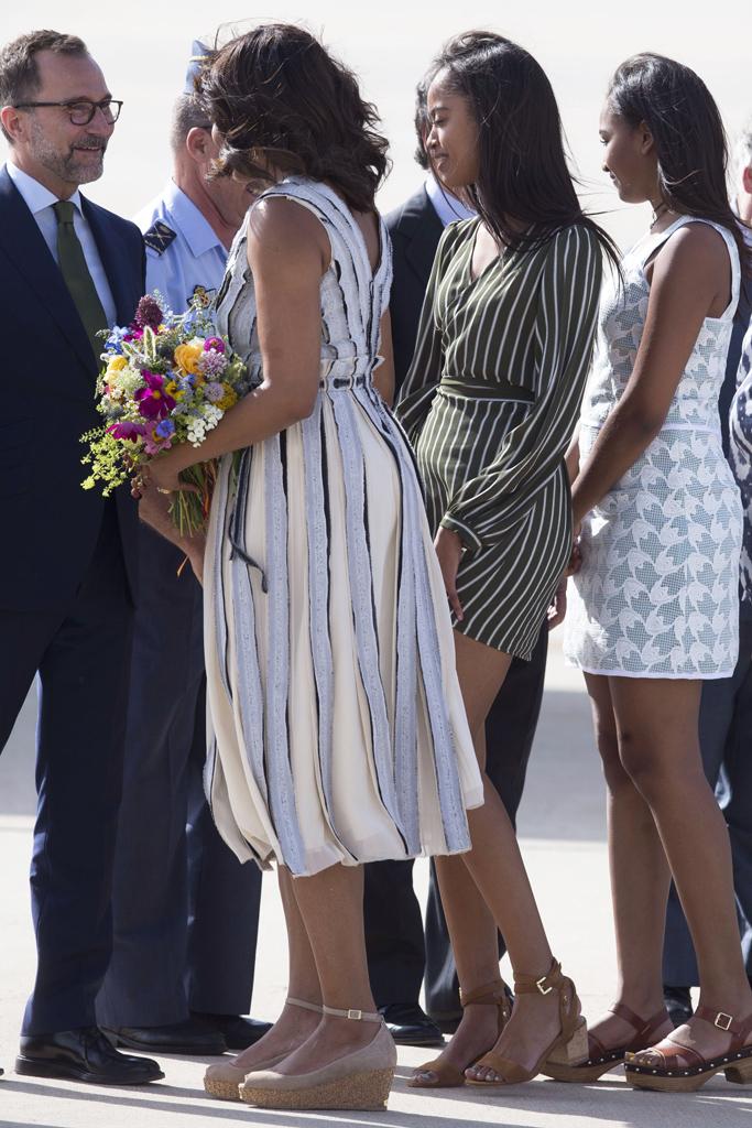 Michelle Obama Spain 2016