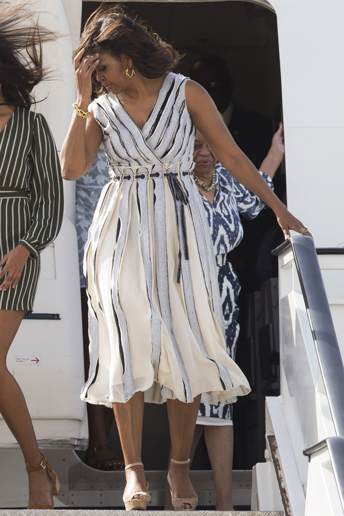Michelle Obama In Spain 2016