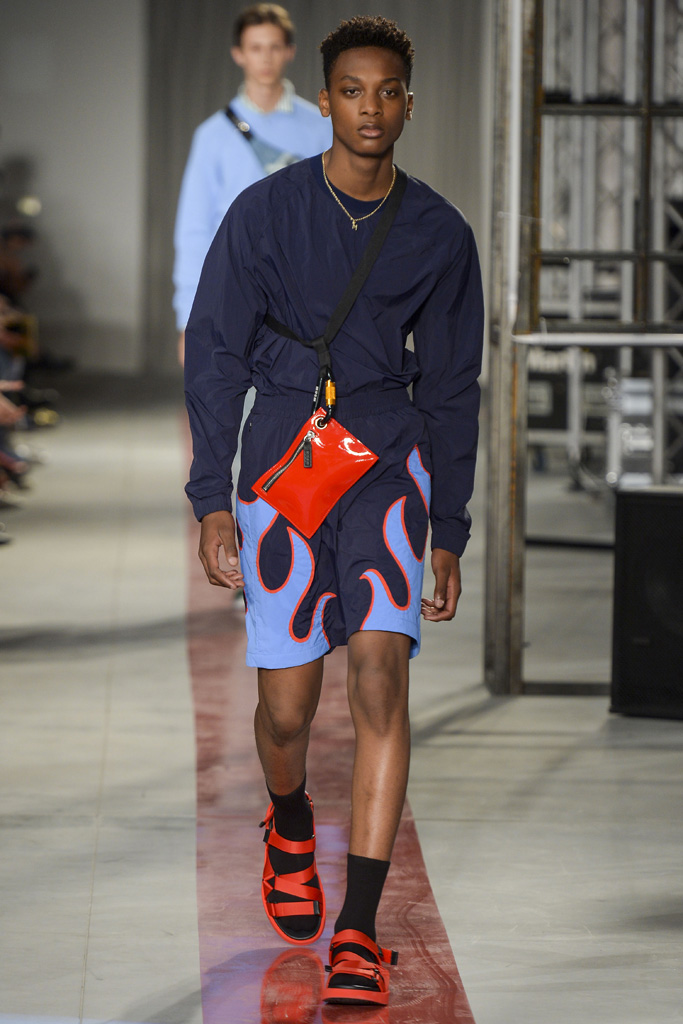 MSGM Men's Spring 2017 Collection