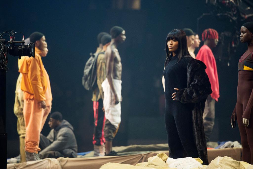 Naomi Campbell Yeezy Season 3 Madison Square Garden