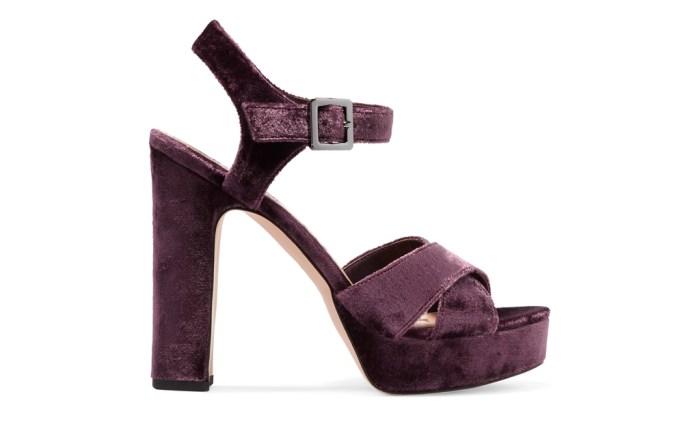 Sam Edelman Velvet Shoes Net-A-Porter