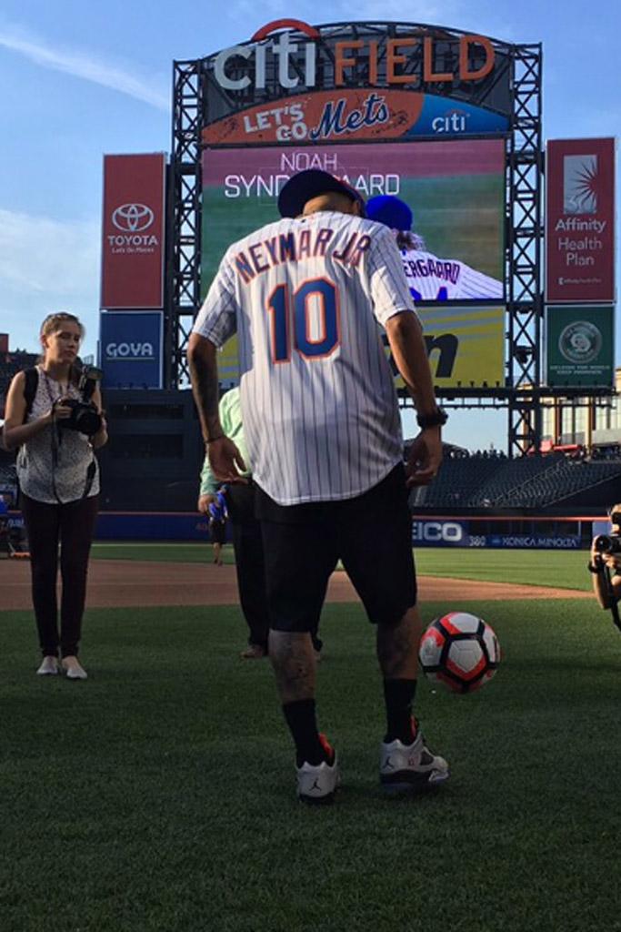 Neymar Mets Game