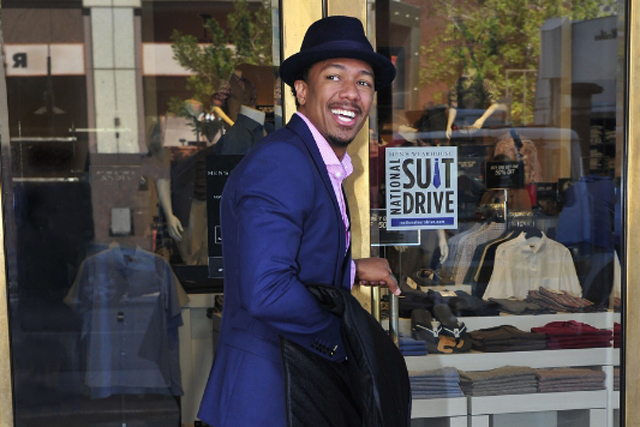 Nick Cannon suit drive