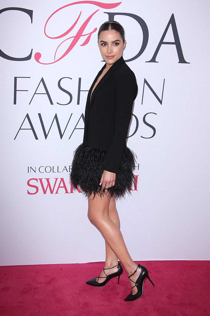 Olivia Culpo CFDA Awards Red Carpet