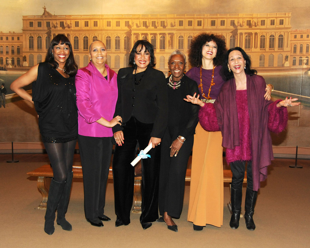 The Met Tribute to the Models of Versailles 1973, New York City, USA - 24 Jan 2011 Amina Warsuma, Charlene Dash, Norma Jean Darden, Bethann Hardison, Pat Cleveland, China Machado