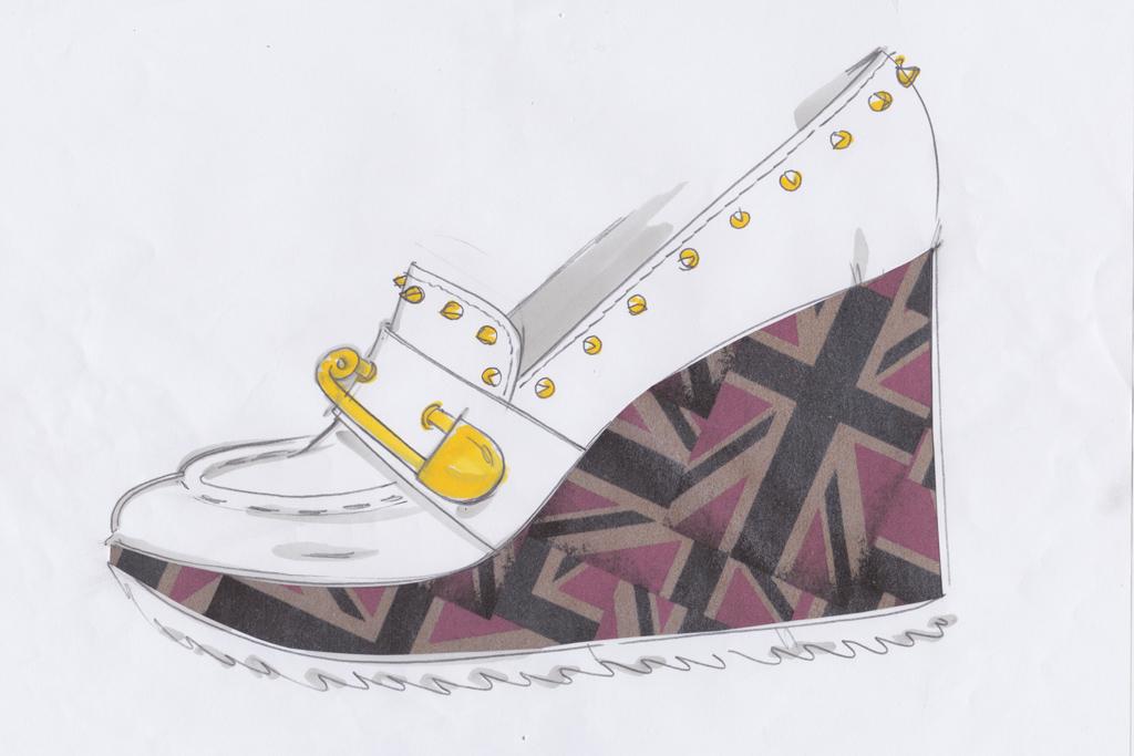 Patrick Cox Union Jack Shoes