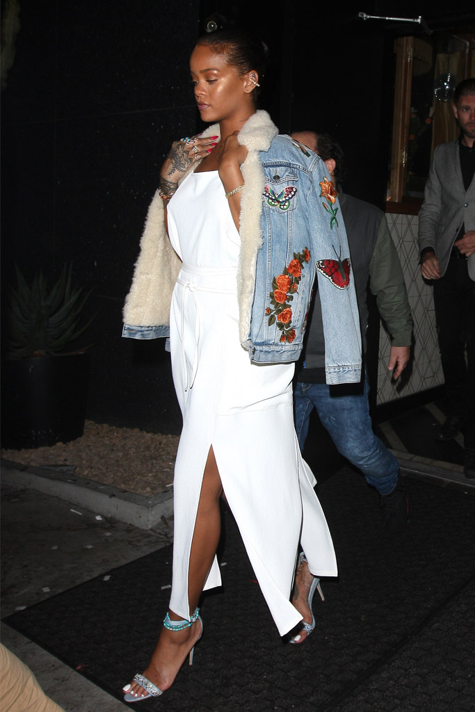Rihanna Celebrity Statement Shoes June 2016
