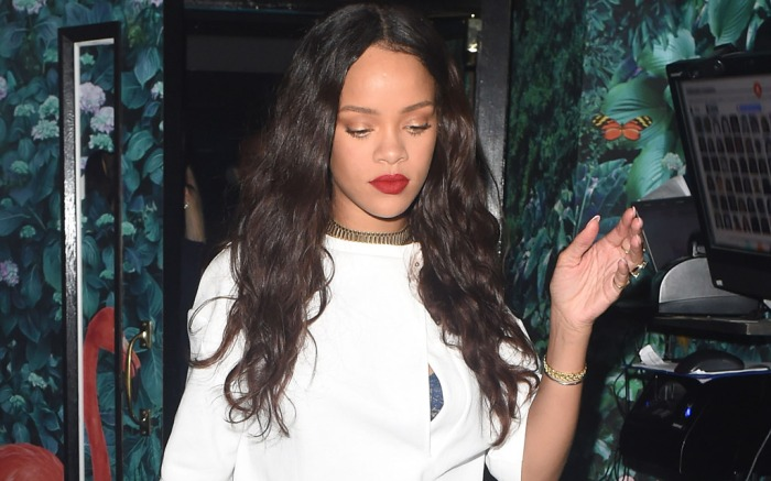 RihannaCelebrity Statement Shoes June 2016