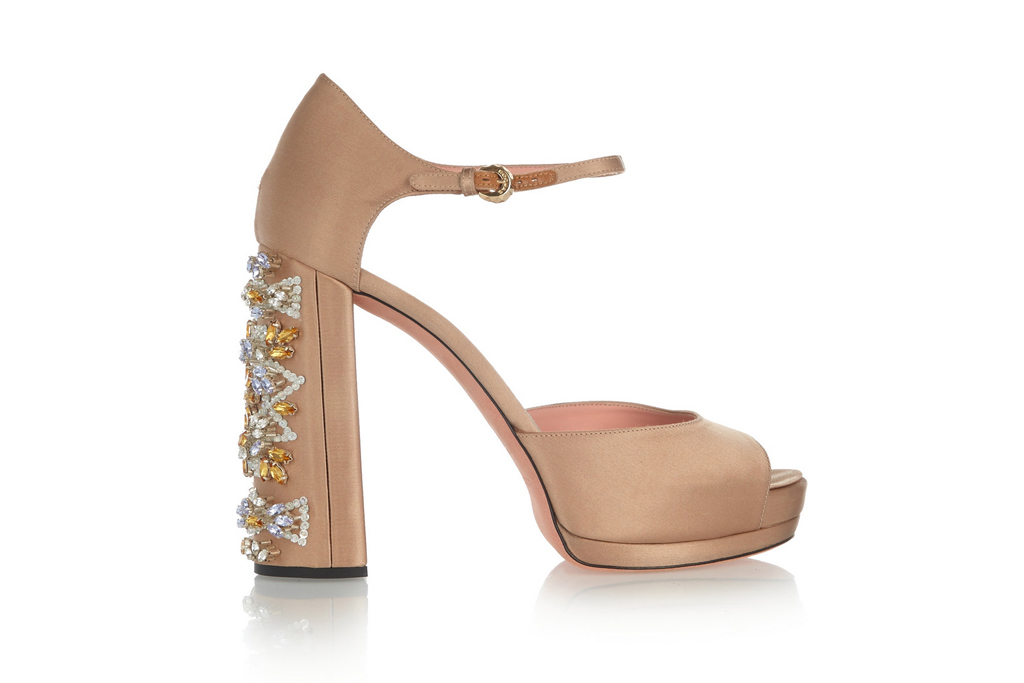 Rochas Wedding Shoes On Sale