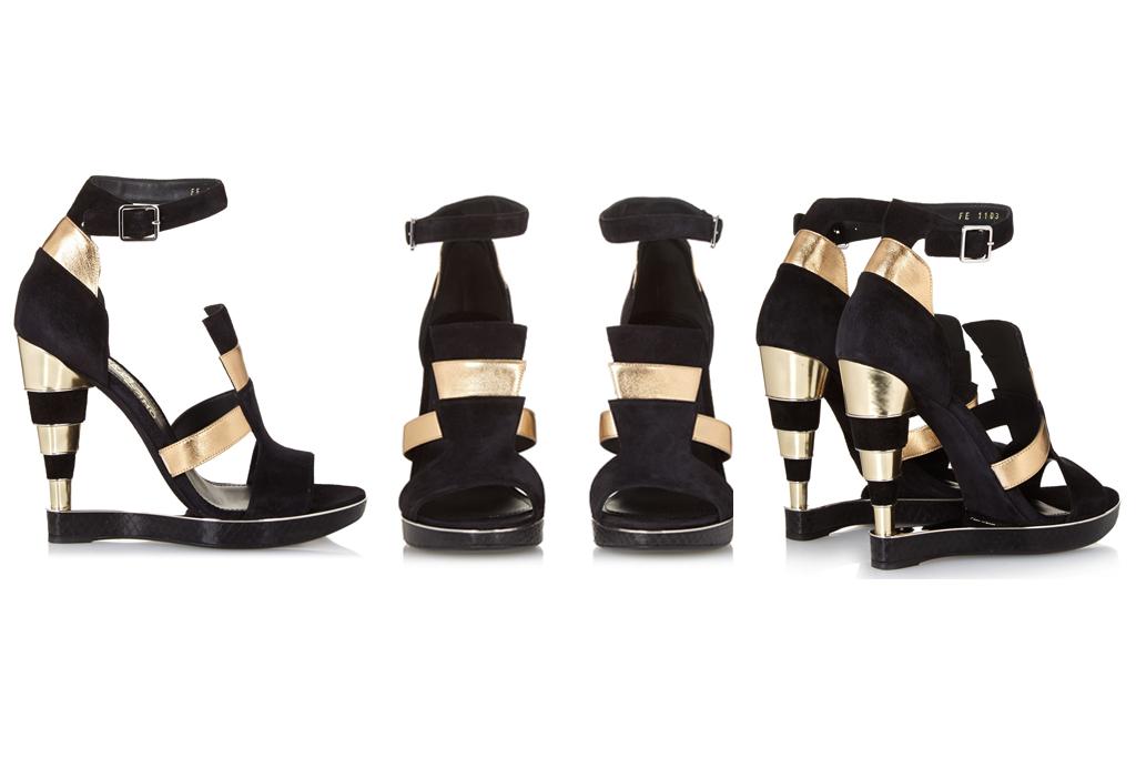 Salvatore Ferragamo Lexus Cutout Sandals