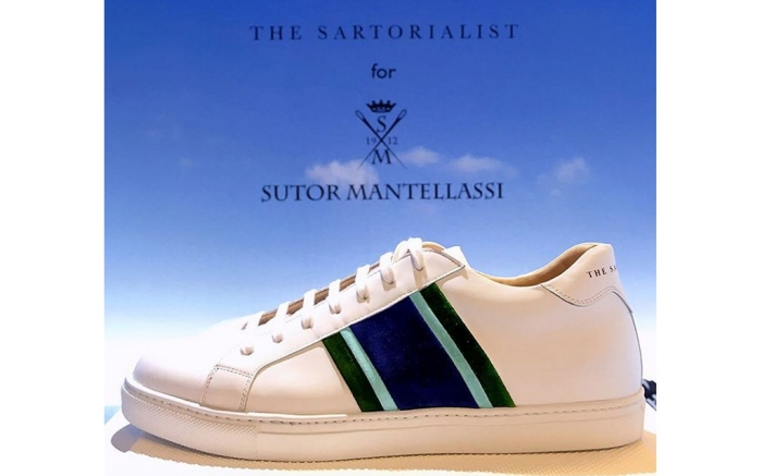 Sartorialist Sutor Mantellassi Sneakers Collaboration