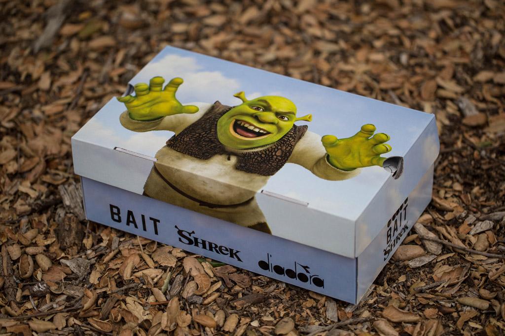 Bait DreamWorks Diadora N9000 Shrek