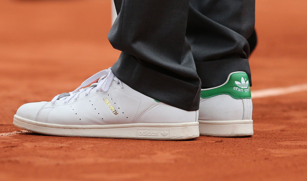 stan smith adidas french open tennis shoes