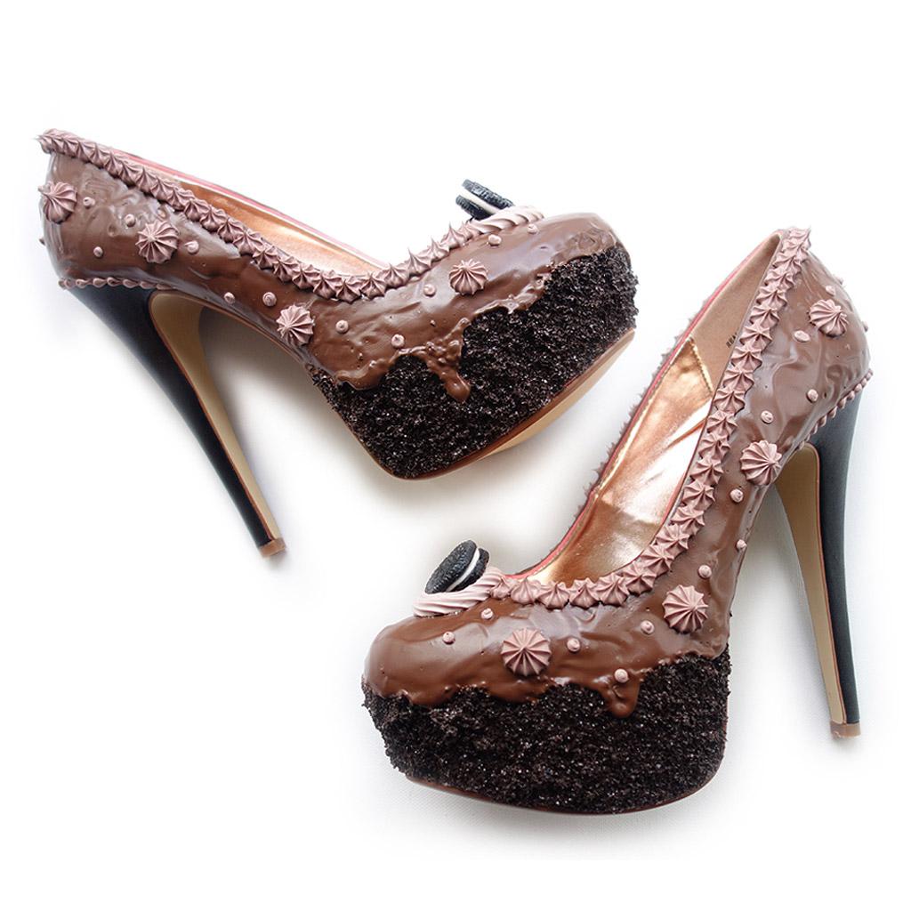 jimmie sprinkles chocolate frosting shoe bakery