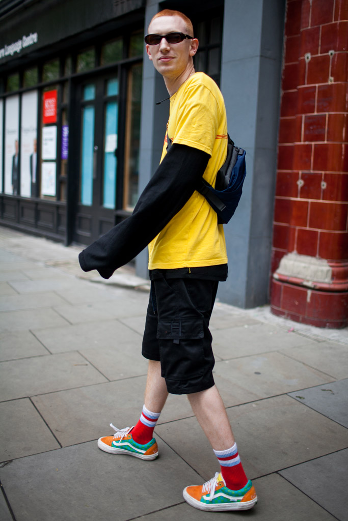 Street Style Men's Fashion Week London Spring 2017 Shows