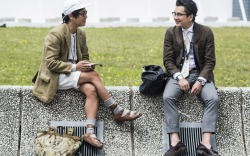 Street Style Milan Men's Fashion Week