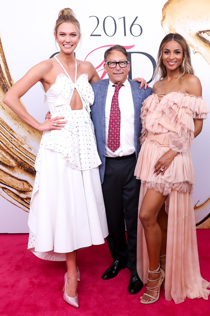 Stuart Weitzman Karlie Kloss Ciara CFDA Awards Red Carpet