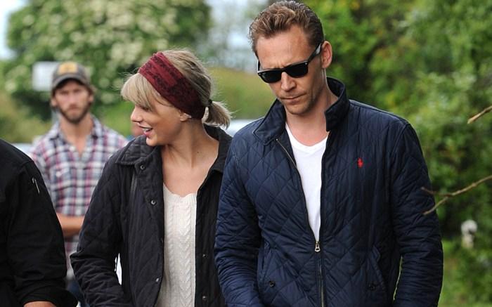 Taylor Swift Wellies Tom Hiddleston