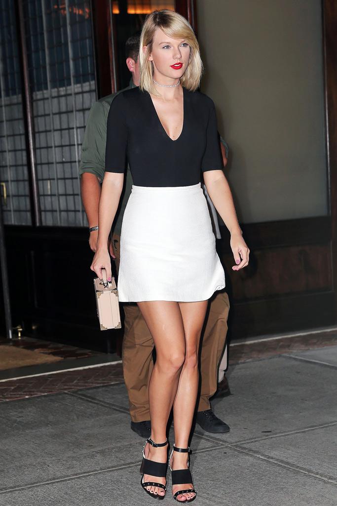 Celebrity Shoe Style Taylor Swift Photos Footwear News