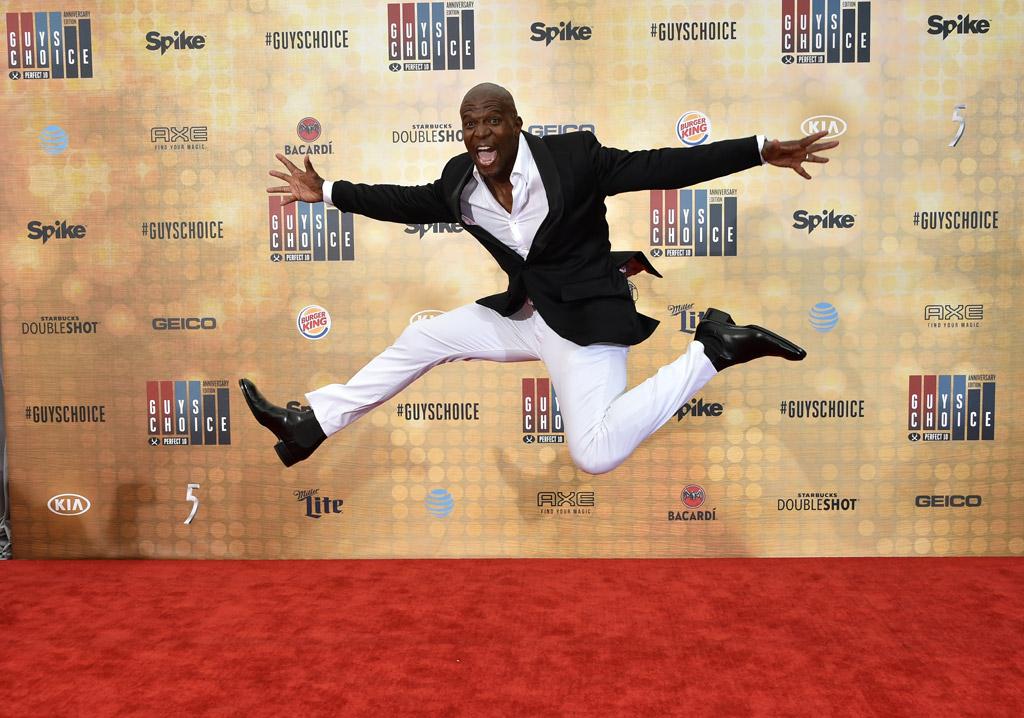 terry crews spike tv awards