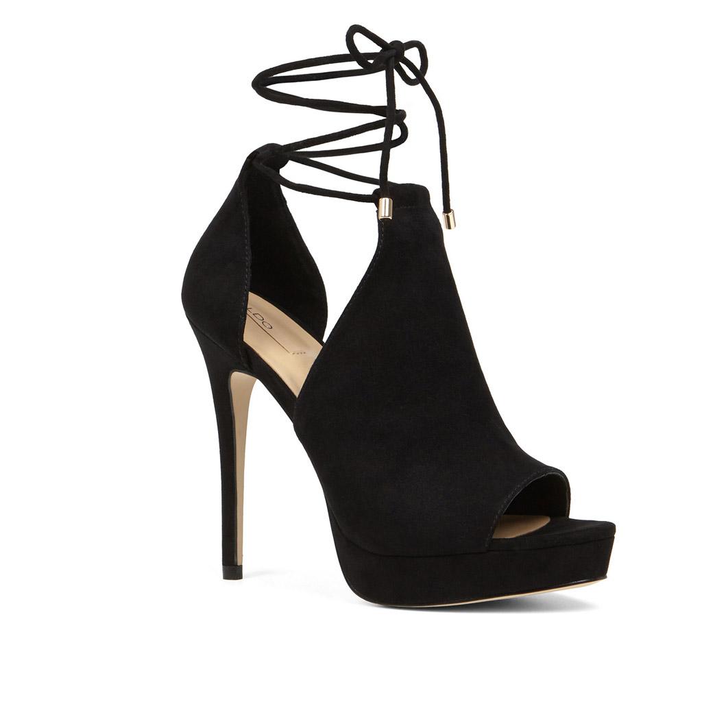 aldo heels booties