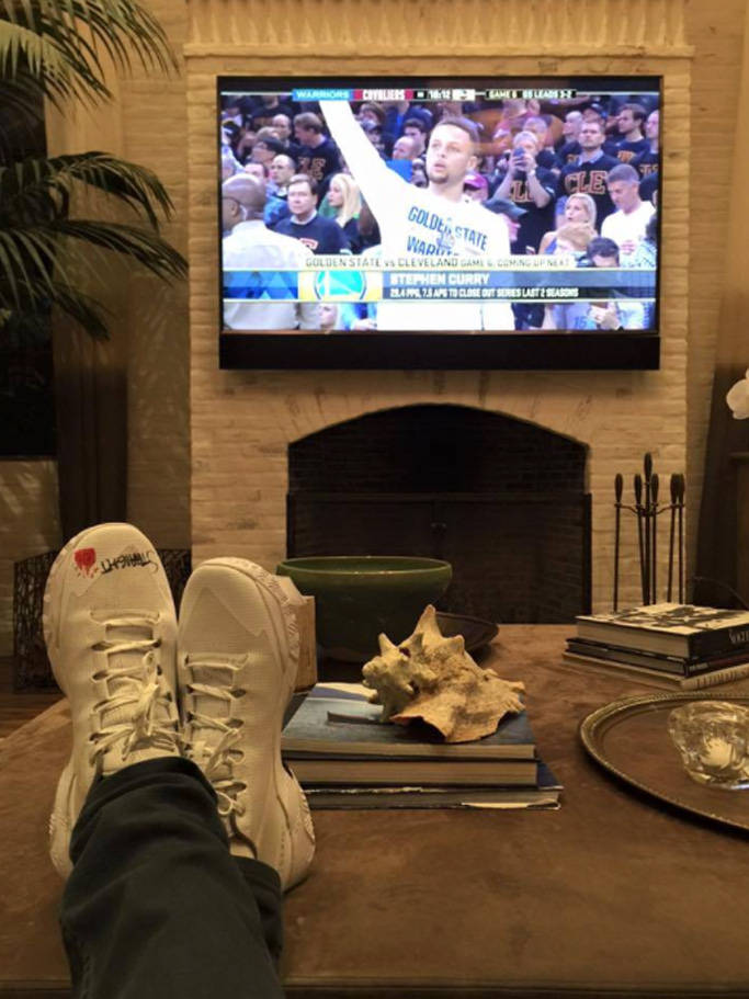 Tom Brady Curry Two Low Chef NBA Finals