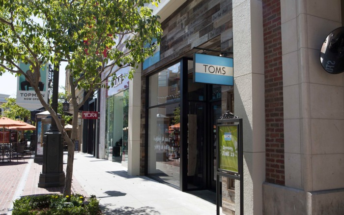 toms glendale brand americana california los angeles