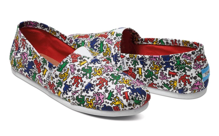 Toms x Keith Haring Foundation collaboration