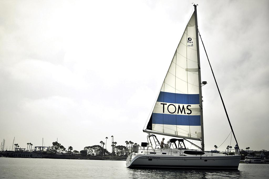 Toms Sail Boat