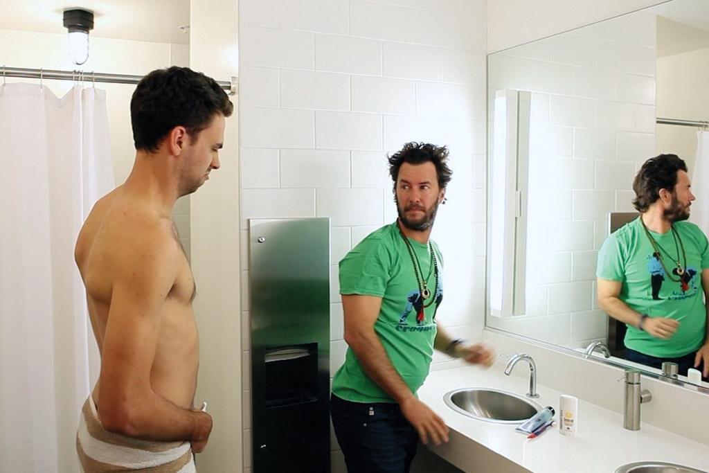 Toms Shower Strike