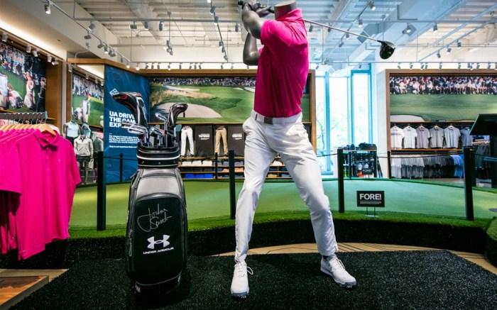 UA world of golf under armour