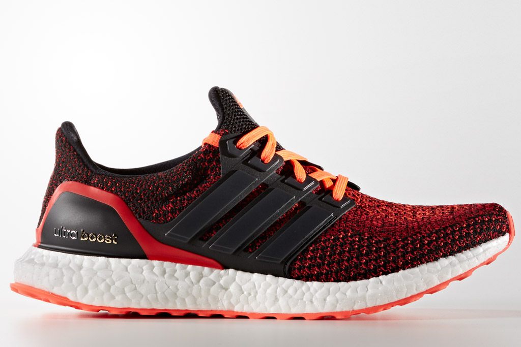 Adidas Ultra Boost Solar Red Black