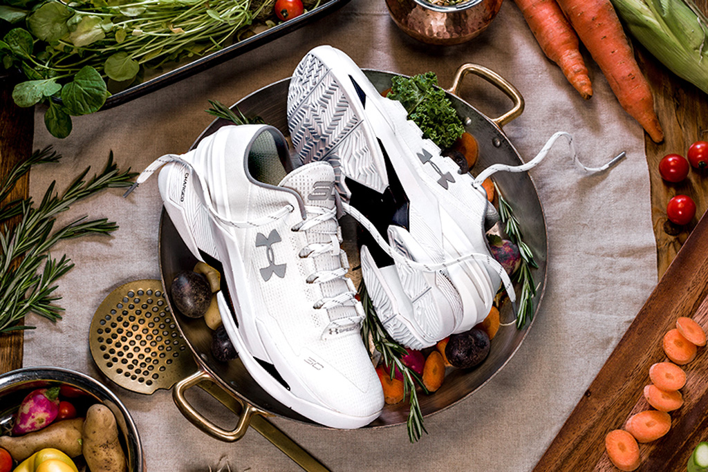 Under Armour Curry Two Low Che