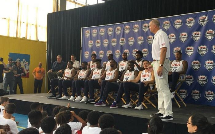 US Men's Basketball Team