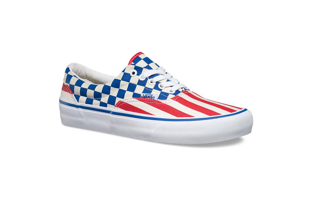 Vans 50th Era Pro 83 Checks And Stripes Sneakers