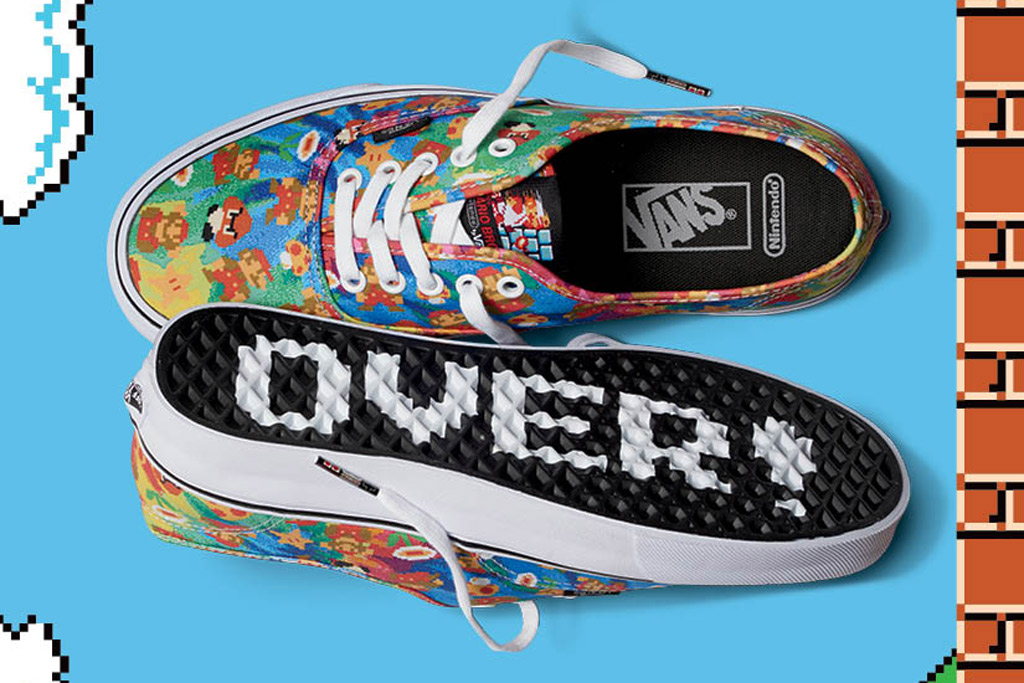 Vans To Release Nintendo Collection On