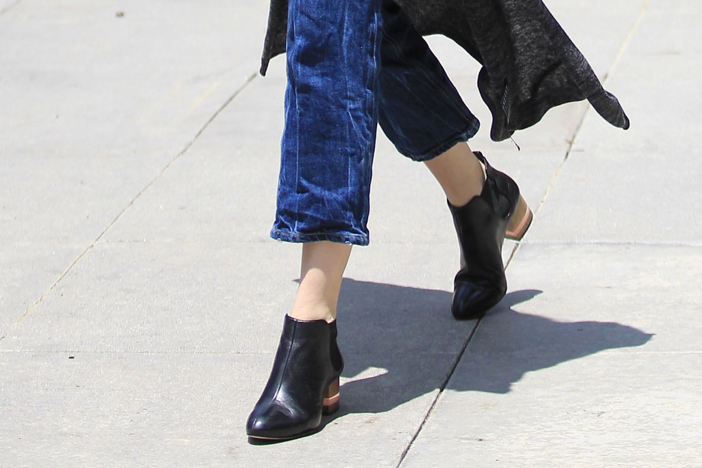 Whitney Port Celebrity Statement Shoes June 2016
