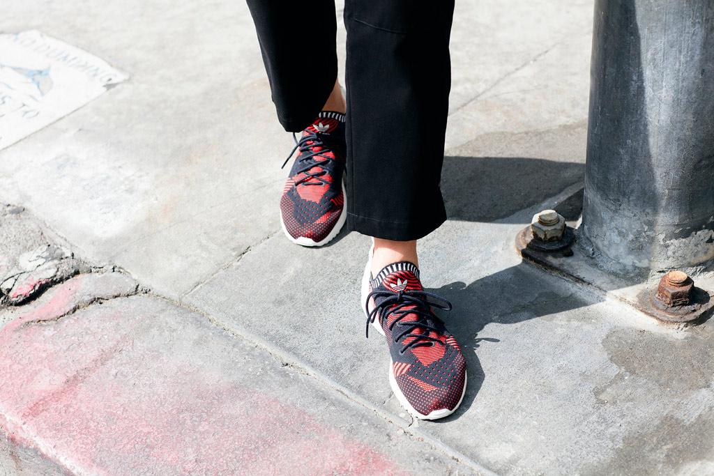 Ricciolo Demone Supermercato Adidas Sneakers Zx Flux Adv Botanica Lucidato Turista