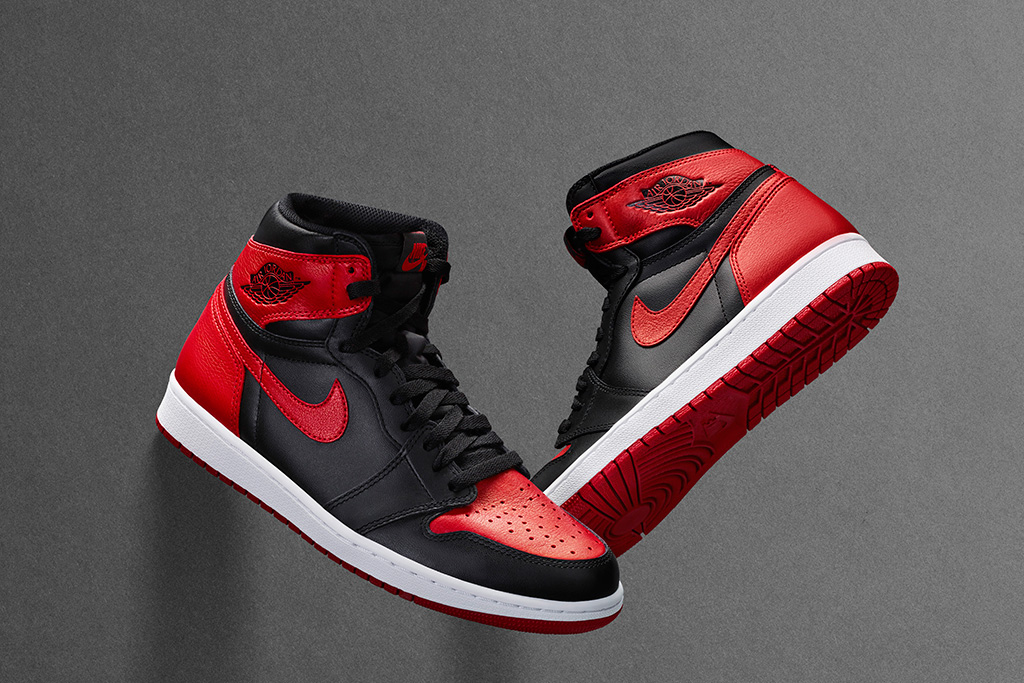 Air Jordan I Bred