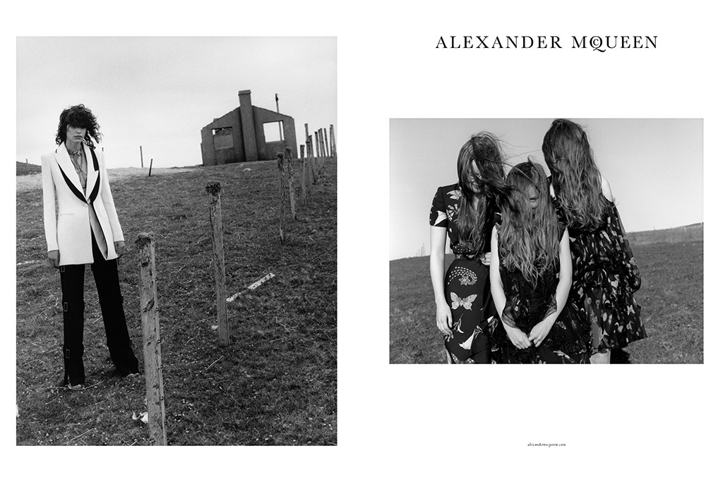 Alexander McQueen Fall 2016 Ad Campaign